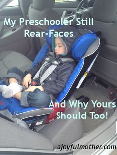 Some good information about proper car seats for little ones.