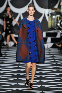 DVF runway show. Love everything!!