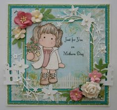 OOAK LOVELY MAGNOLIA TILDA CARD.. 'MOTHERS DAY' .. boxed | eBay