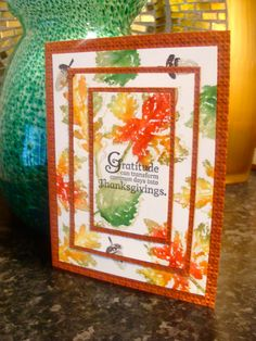 IC358 - Gratitude for Thanksgiving by girlgeek101 - Cards and Paper Crafts at Splitcoaststampers