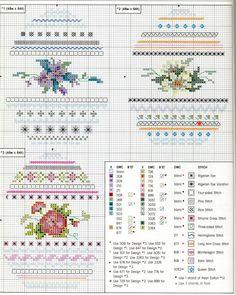 Мое хобби — вышивка и вязание. » Blog Archive Схемы вышивки крестом пасхальных яиц.