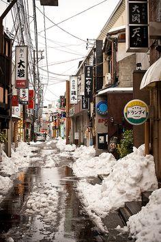 myfictionallifeinjapan:    Kanazawa by pixelhut on Flickr.