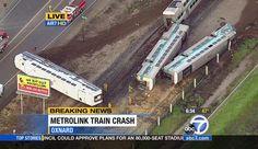 Derailed train in Oxnard CA 2/24/15