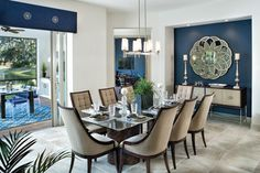 Bermuda 1216 - traditional - dining room - tampa - Arthur Rutenberg Homes