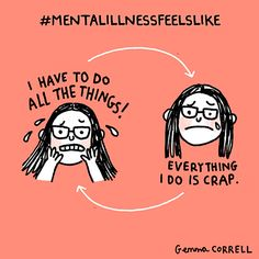 Artist Suffering From Anxiety And Depression Illustrates Her Life In Hilarious Comics