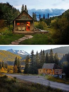 Dunton Hot Springs is a small and exclusive resort nestled deep in the San Juan Mountains of the Colorado Rockies. This romantic old mining town resort is a tribute to the American West, offering authentically restored hand-built log cabins with loads of sturdy rustic charm and character.