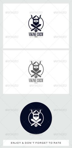 Viking Head Logo (Humans) –  #app #application #awesome #brand #clean #client