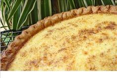 Grandma's Egg Custard Pie ~ 1999 American Pie Council's Pie Championship in the Custard Pie Category