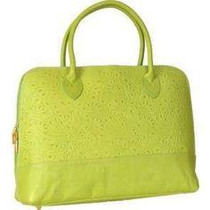 Kožená kabelka 6148 Green FC8240