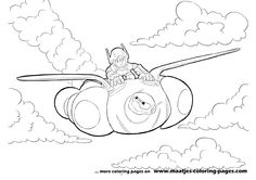 More Big Hero 6 coloring pages on: maatjes-coloring-pages.com