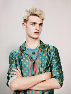 fashun4goons:  This is basically a glorified pajama shirt. What a beautiful pajama shirt! A pajama shirt acceptable for casual wear!