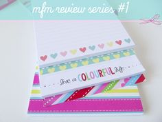 A new blog series featuring reviews on lovely stationery items. #stationery #organize #notebook