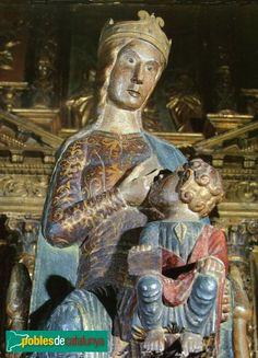 Marededéu de la Llet (La Pobla de Claramunt - Anoia) Segle XIII a XV