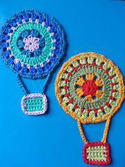 Ravelry: Hot Air Balloon Mandala free pattern by Abi Millard