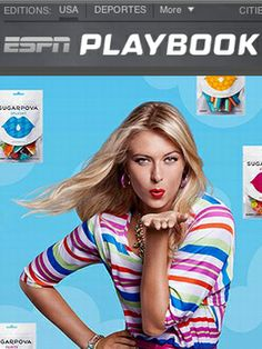 Maria Sharapova sweet on new candy line  Surrounded by gummy fish and tennis gumballs, Maria Sharapova isn't apologizing. She likes candy, and that's the next category she'll add her name to.  #Sugarpova #espnpr