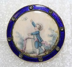 Button Date: ca. 1785 Culture: French Medium: ivory, metal, diamond Dimensions: [no dimension available] Credit Line: From the Hanna S. Kohn...