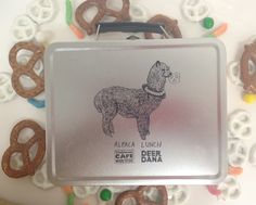 "The cutest - ""ALPACA"" Lunch box from Walgreens #snackspotting"