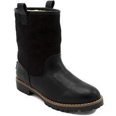 online retailer 617cd b3061 Nautica Ladies Bosun 3 Winter Womens Lined Low Shaft Mid Calf Boot Black 10   womenshoes