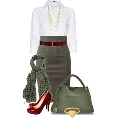 Office Outfit - Polyvore