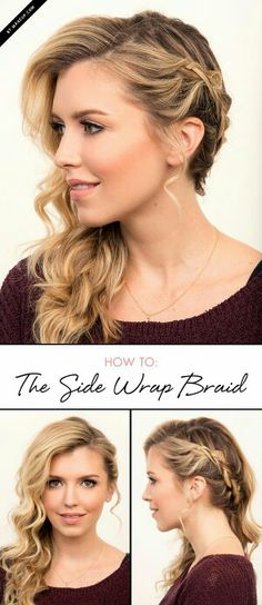 Marvelous 18 Cute Braided Ponytail Styles 14 Side Braid From Root To Tip Short Hairstyles Gunalazisus