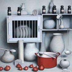 """onions/1310"" 70 x 70, acrylic on canvas, 2011"