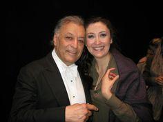 María José Montiel with Zubin Mehta Zubin Mehta, Mezzo Soprano, Maria Jose, Conductors, Theatre, Opera, Songs, Couple Photos, Couples