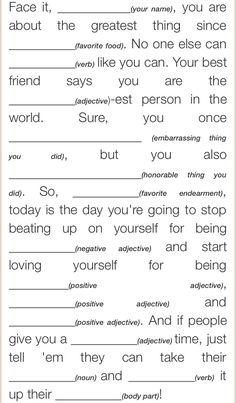The 25+ best Self esteem activities ideas on Pinterest