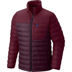 Mountain Hardwear Men's Dynotherm Down Jacket, Size: Medium, Dark Tannin