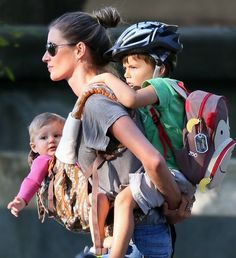 OMG! Gisele is the queen of attachment parenting! Could you do this, mom? http://thestir.cafemom.com/baby/160577/gisele_bundchens_latest_mommy_feat?utm_medium=sm_source=pinterest_content=thestir