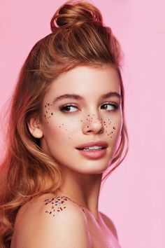 Golden Freckle Temporary Tattoos Will Complete Your Festival Look