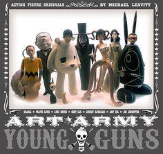 Vinyl Pulse: Mike Leavitt - Art Army Young Guns (12.8.2007)