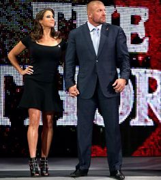 WWE Triple H & Stephanie McMahon