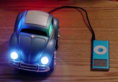 vw beetle ipod speaker
