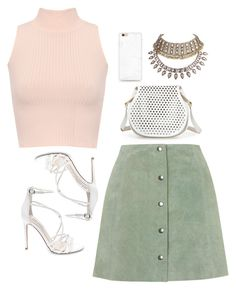 36 V I E W S  of  . . . by m-phil on Polyvore featuring WearAll, Topshop, Steve Madden, Cynthia Rowley, white, Pink, GREEN, pastel and contestentry