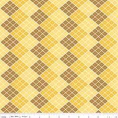 Indie Chic Checkers yellow Sold by the Fat by JRsFabricStash, $4.00