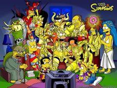 Simpsons Saint Seiya - Cavaleiros do Zodíaco