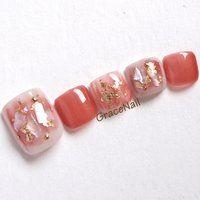 Cute Toe Nails, Toe Nail Art, Pedicure Designs, Toe Nail Designs, Stylish Nails, Trendy Nails, Feet Nail Design, Fingernails Painted, Korean Nails