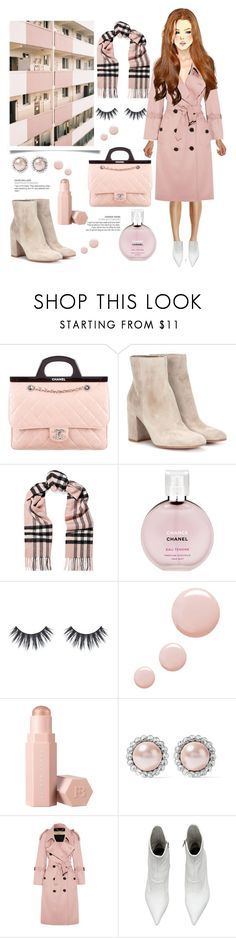 """""""burberry cashmere scarf 🦌"""" by anoo17k ❤ liked on Polyvore featuring Chanel, Gianvito Rossi, Burberry, Topshop, Puma, Miu Miu and GE"""