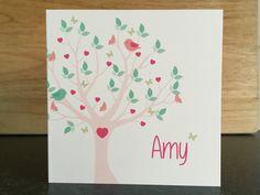 Geboortekaartje voor Amy
