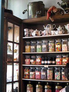 candy shop in Gent, Belgium