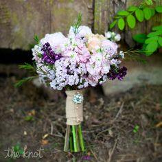 Purple and Pastel Bouquet