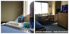 private Bedroom and private Bathroom Renaissance Village Suites LLC Plattsburgh NY Student Housing