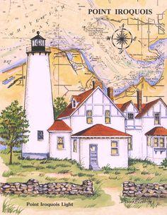 Point Iriquois Lighthouse (Donna Elias)