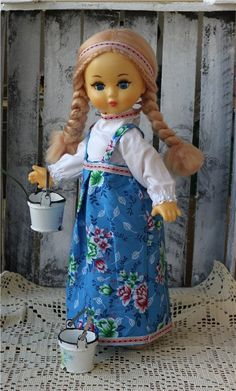Паричковая Северяночка / Куклы детства / Шопик. Продать купить куклу / Бэйбики. Куклы фото. Одежда для кукол