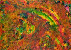 DUHA ZA DUHOU 50 x 70 cm Akryl na plátně 2016 www.zuzanakrovakova.cz RAINBOW OVER THE RAINBOW 50 x 70 cm Acrylic on canvas 2016 www.zuzanakrovakova.com