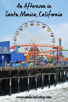 Spending an Afternoon in Santa Monica, California: Third Street Promenade, Camera Obscura, the pier, and the best place to park! San Diego, San Francisco, California Vacation, California Dreamin', Santa Monica, Travel Goals, Romantic Travel, Beach Trip, Third Street