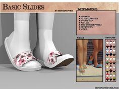 The Sims 4 Basic Slides Sims 4 Cc Kids Clothing, Sims 4 Mods Clothes, Sims Mods, Sims 4 Teen, Sims 4 Toddler, Sims Cc, Toddler Shoes, Kid Shoes, Girls Shoes