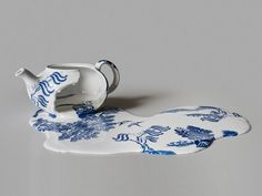 Melting Teacups and Teapots by Livia Marin