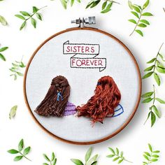 Bees and Honeycomb Print Embroidery Hoop / Finished Embroidery Art Learn Embroidery, Hand Embroidery Stitches, Embroidery For Beginners, Hand Embroidery Designs, Embroidery Art, Flower Embroidery, Simple Embroidery, Embroidery Techniques, Knitting Stitches