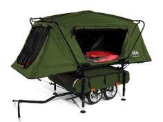 http://www.amazon.com/Kamp-Rite-Bushtrekka-Bicycle-Trailer-Oversize/dp/B002KKBT9Y/ref=sr_1_1?ie=UTF8=1369753511=8-1=bike+trailer+camper  This would be so cool!!